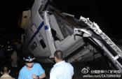 中国新幹線脱線事故3