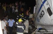 中国新幹線脱線事故4