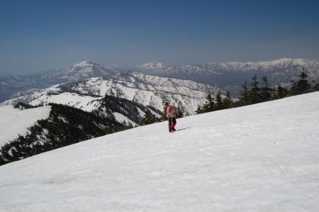 11会津駒ケ岳へ