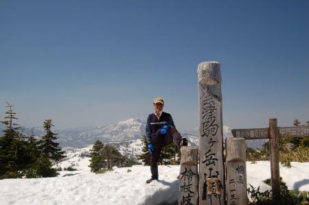 12会津駒ケ岳山頂