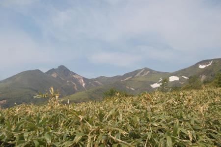 25朝日岳から熊見曽根