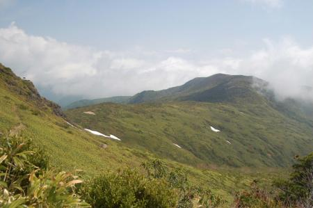 29赤面山への分岐