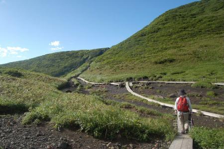 阿弥陀池から横岳へ