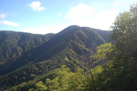 温泉ヶ岳への尾根