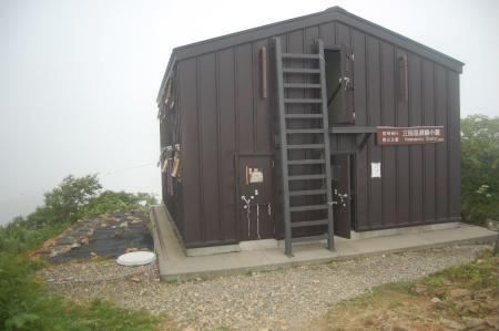 三国避難小屋