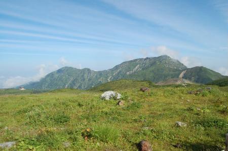 8大日岳と奥大日岳