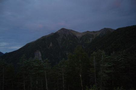 ③赤石岳1