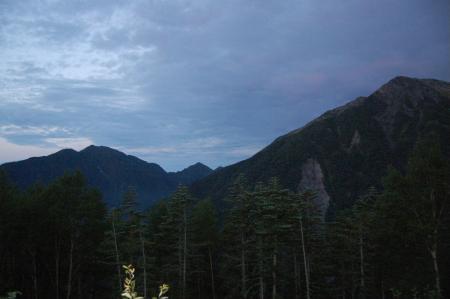 ③赤石岳~聖岳2