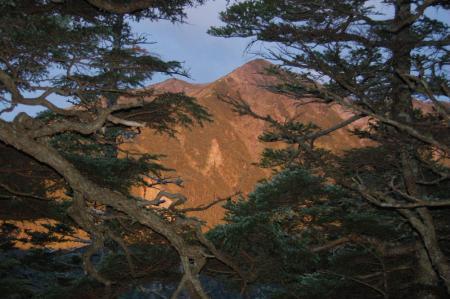 ③赤石岳3