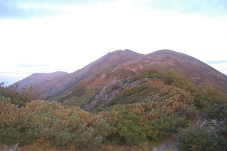 ②千枚岳山頂から3