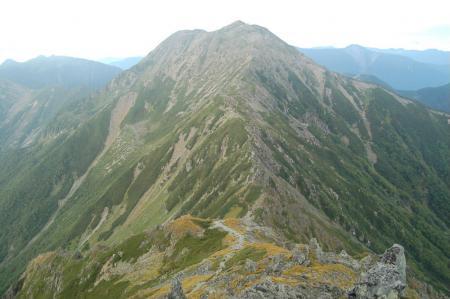 ②中岳、前岳への尾根17