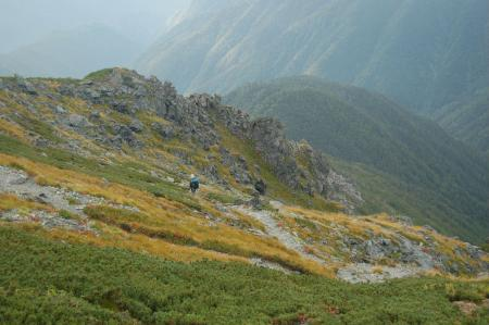 ②中岳、前岳への尾根18