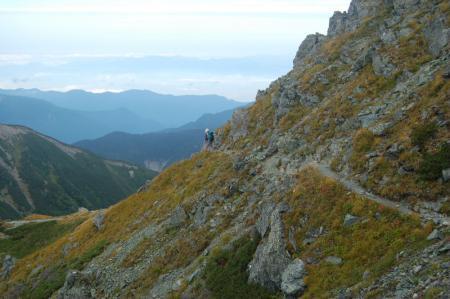 ②中岳、前岳への尾根19