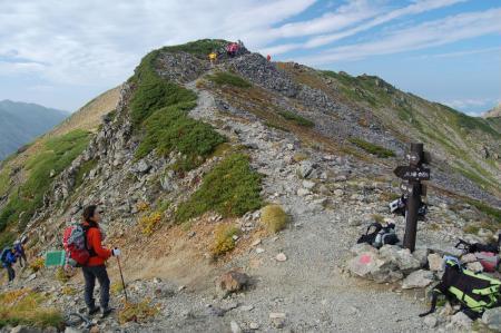 ②前岳への分岐28