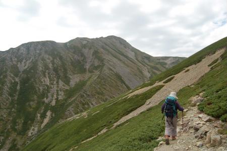 ②赤石岳を目指して37