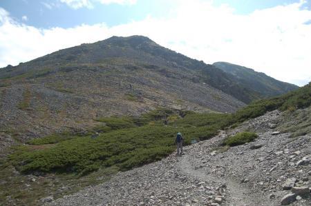 ②小赤石岳を目指して42