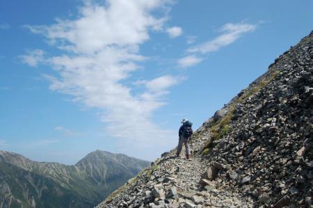 ②小赤石岳を目指して43