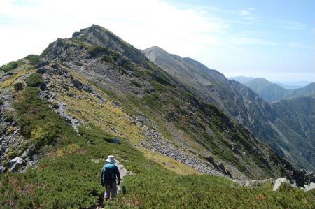 ②小赤石岳を目指して44