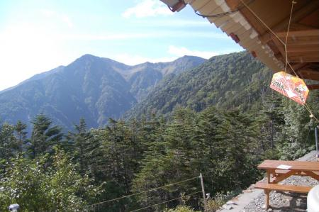 ②赤石小屋からの赤石岳56