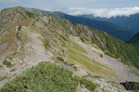 ②小赤石岳カール60