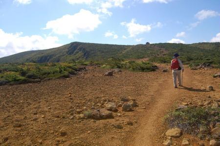 鉄山への登山道15