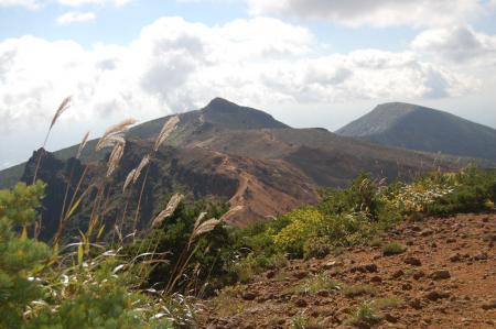 鉄山からの安達太良山17