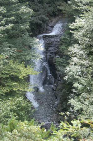 屏風岩から想恋の滝