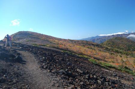 白笹山と南月山9