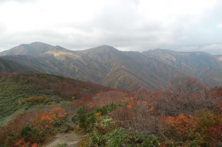 西朝日岳9