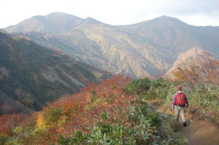 小朝日岳へ10