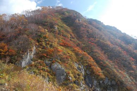 紅葉の小朝日岳17