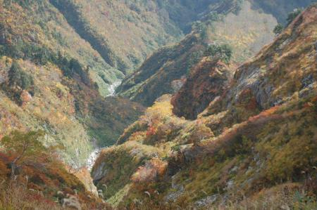 紅葉の渓谷34