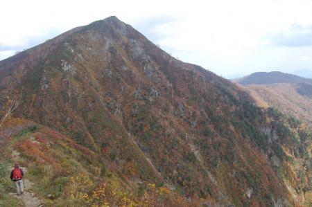 小朝日岳の紅葉35