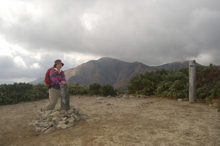 小朝日岳山頂38