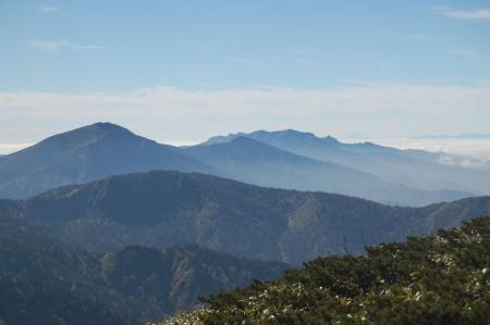平が岳山頂33