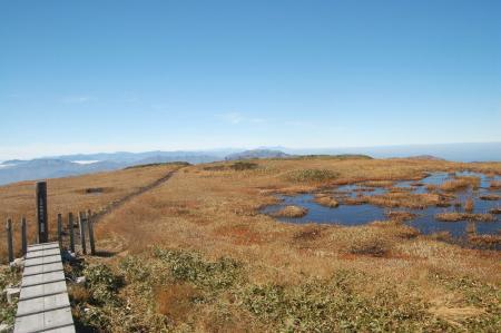 平が岳山頂34