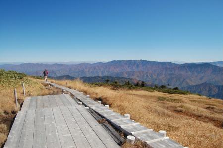 平が岳下山36
