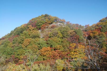 篭岩山からの尾根16