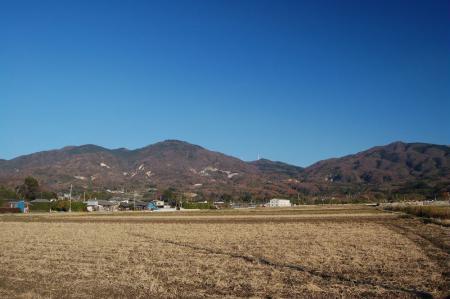 43燕山~足尾山への尾根