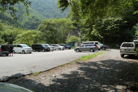易老渡駐車場