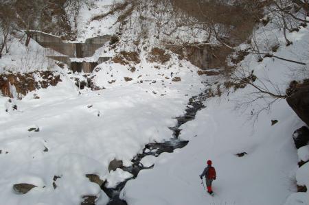 14川に降り立つ