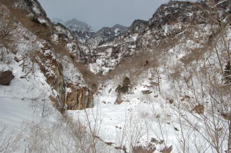 16雲流渓谷入口
