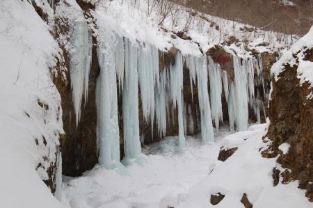 29氷柱群