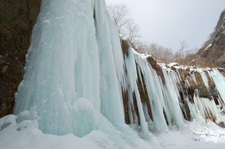 30氷柱群