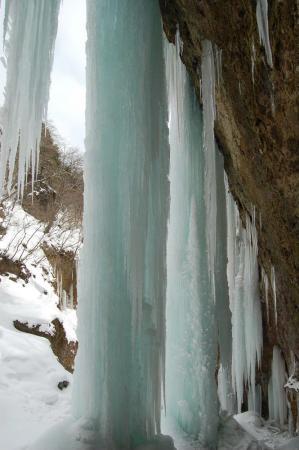 33氷柱群