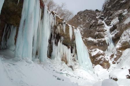 35氷柱群