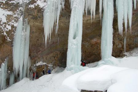 55氷柱群