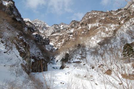 67雲流渓谷入口