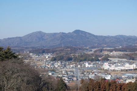 8富士山から仏頂山高峰