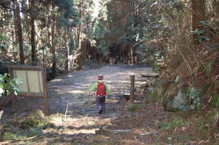17林道へ